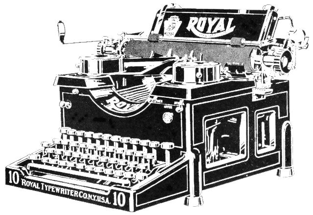 typewriter-transparent